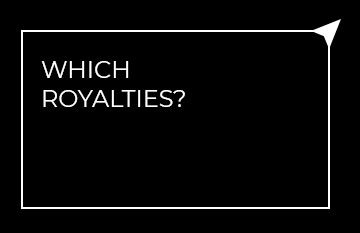 Which royalties?