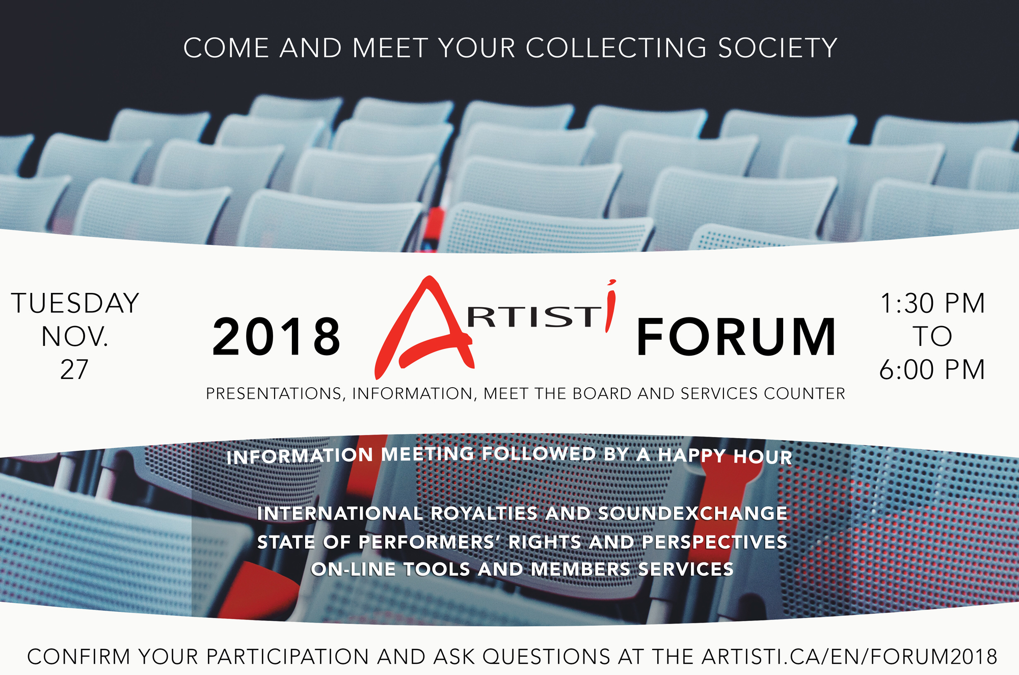 Artisti Forum 2018 – 1st edition
