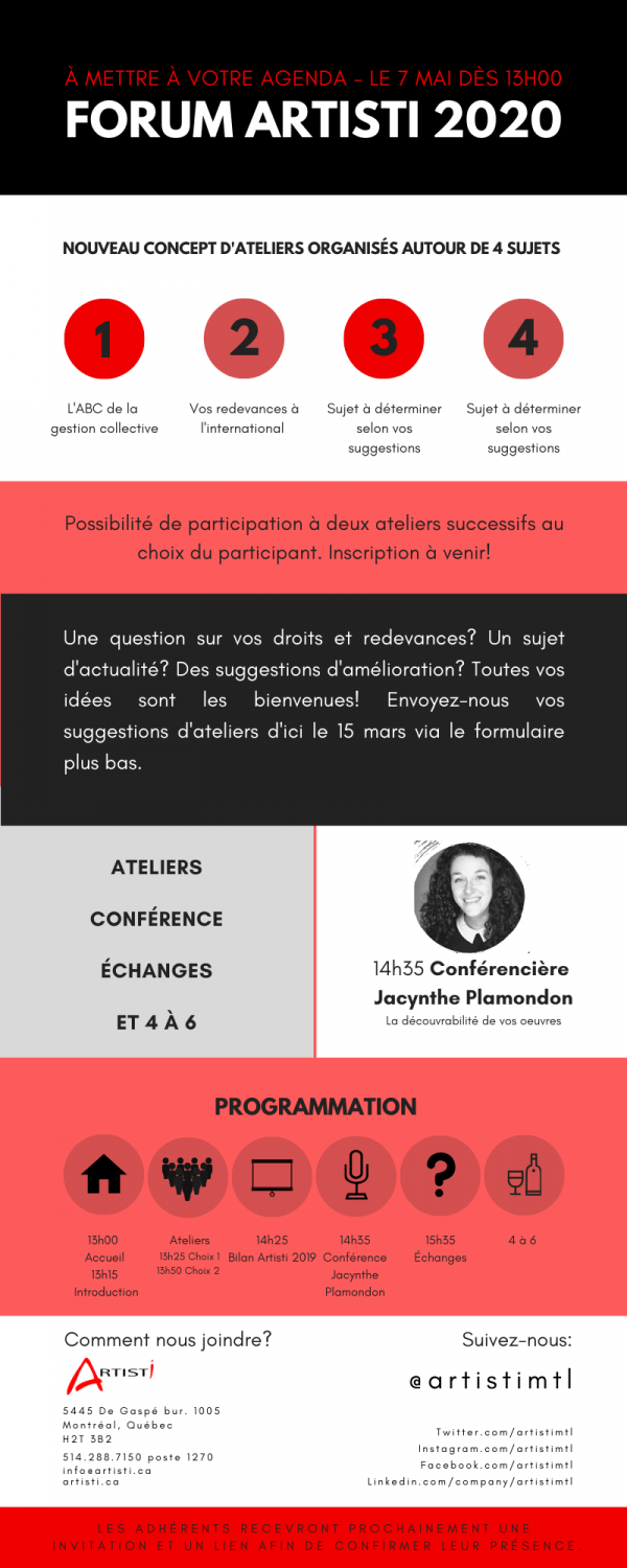 POUR WP_ Save the date Forum Artisti 2020 (1)